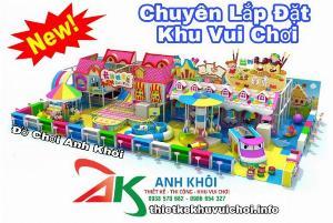 Tư vấn thiết kế thi công khu vui chơi trẻ em