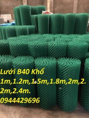 Lưới B40 bọc nhựa PVC làm sân tennis