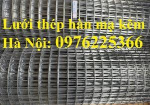 Lưới thép hàn D4 ô 100x100 thép đen, mạ kẽm sản xuất theo yêu cầu