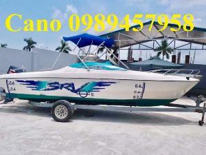 Cano cũ đã qua sử dụng, Cano nhập khẩu, cano chở 6-8 người, Cano 10-12 người