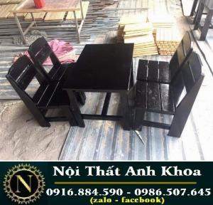 Ghế gổ cóc sơn màu có lưng tựa làm tại xưởng sản xuất anh khoa 8880