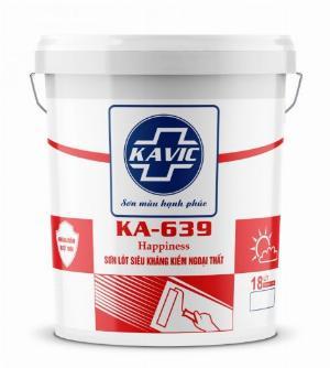 Sơn Kavic lót siêu kháng kiềm ngoại thất KA-639