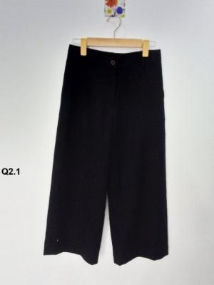 Quần nữ kiểu lửng ống suông thời trang cao cấp Q2.1