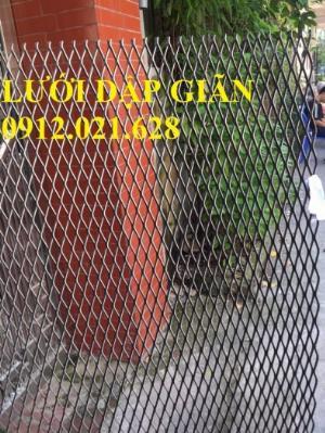 Lưới thép dập giãn, lưới hình thoi, lưới bảo vệ, trang trí sản xuất bởi Nhật Minh Hiếu