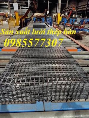 Sản xuất lưới thép hàn D6 a200x200, D8 a200x200 giá tốt