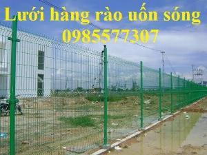 Sản xuất và lắp đặt lưới hàng rào phi 4,phi 5,phi 6