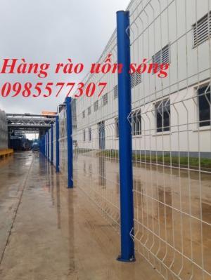 Sản xuất và thi công lưới hàng rào D4,D5 a50x150, D5 a50x200