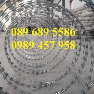 Bán dây kẽm lam đường kính 45cm, 60cm, 90cm tại Sài Gòn