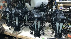 Tìm nơi sản xuất đèn trụ cổng