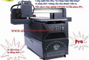 Máy In UV công nghiệp khổ nhỏ 6090 Pro