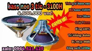 Loa 3 tấc neo - 3100h