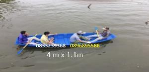 Thuyền câu cá cho 4 người - Thuyền composite sức chở 400kg(liên hệ báo giá)