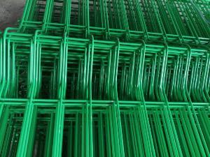 Lưới hàng rào D6 sơn tĩnh điện màu xanh lá, chấn sóng- Nhật Minh Hiếu