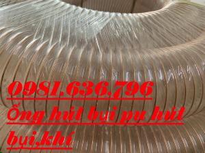 Ống nhựa Pu phi 200mm hút bụi , hút khí co giãn đàn hồi.