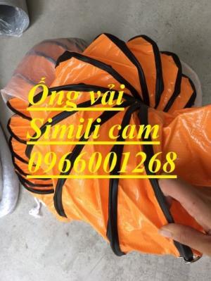 Ống gió mềm dùng cho quạt hút , ống gió mềm simili cam phi 300,phi 400,phi 200 giá rẻ