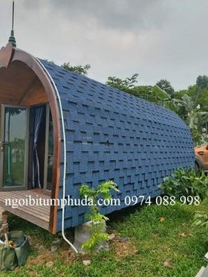 Ngói lợp nhà bungalow, tấm lợp nhựa đường cho nhà lắp ghép, ngói giả đá giá rẻ