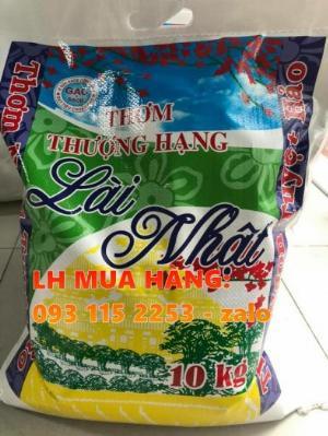 Bao pp dệt chuyên đựng gạo, đựng lúa giống in trục đồng ghép màng OPP