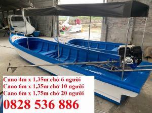 Cano chở 8-10 người, Cano chở 20 người 6mx1.75 giá tốt