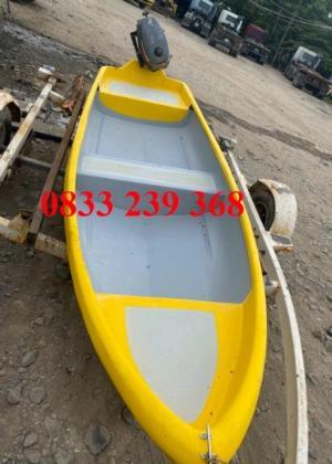 Thuyền câu cá cho 3 người, Thuyền chèo tay, thuyền gắn động cơ