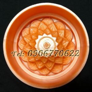 Khuôn ép xôi – Khuôn trung thu hoa sen tầng – Mã số 6 - Loại 250 gram