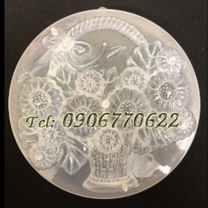 Khuôn rau câu giỏ hoa cúc – Mã số L44 - Loại 25 cm
