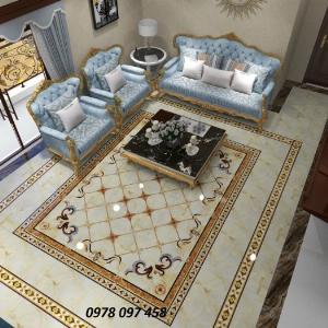 Thảm 3D - thảm gạch men- thảm sàn