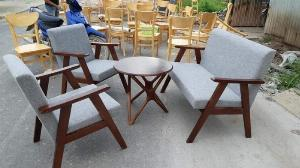 Bàn ghế so pha gổ mặt niệm  giá sỉ tại xưởng sản xuất anh khoa 67886
