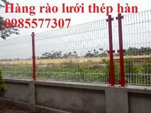 Lưới hàng rào mạ kẽm, hàng rào sơn tĩnh điện, hàng rào bọc nhựa giá tốt nhất