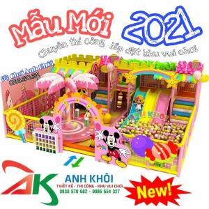 Mẫu thiết kế khu vui chơi trẻ em mới nhất