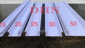 Nẹp ron âm tường  - Nẹp chỉ nhựa âm tường - Nẹp tạo rãnh chữ U - Nẹp U20 âm tường - Nẹp U30 âm tường.