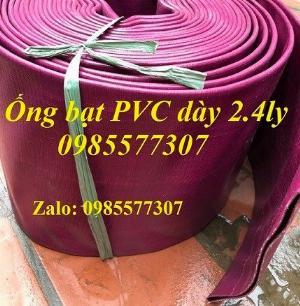 Ống bạt PVC màu tím tải cát, tải sỏi đá loại đặc biệt, hàng có sẵn giá tốt