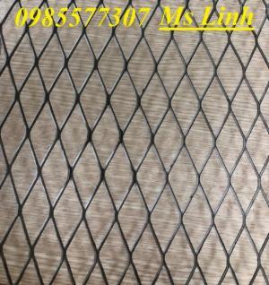 Sản xuất lưới thép dập giãn, lưới hình thoi, lưới quả trám dùng trang trí, bảo vệ trong công trình xây dựng