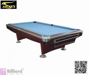 [Bàn bida Lỗ/ Pool Table] Bàn bida Aileex 9019 màu Nâu
