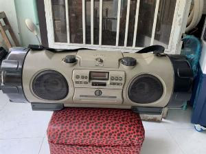 Đài RADIO CD&CASSEETE VICTOR RV-X70 ( trống cơm )