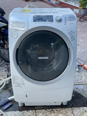 Máy giặt nội địa TOSHIBA TW-Q780R giặt 9kg sấy 6kg sấy block đời 2010