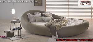 Giường tròn hiện đại, sang trọng cho phòng ngủ tại Bình Dương
