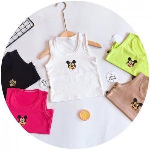 Combo 3 áo Ba lỗ coton 4 chiều Minky mom cao cấp