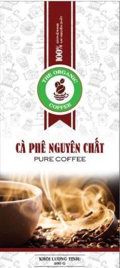 Cà phê nguyên chất rang mộc e Organic coffee