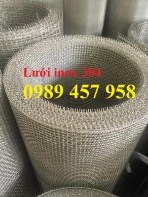 Lưới lọc thực phẩm inox304, lưới lọc công nghiệp 100mesh, 200mesh