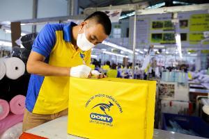 DONY MASK  Xưởng sản xuất khẩu trang kháng khuẩn xuất khẩu châu Âu, Châu Mỹ