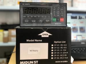 Đầu cân điện tử MI1000T/S xuất xứ : Hàn Quốc, Hotline/Zalo : O915.322.692 Đức Cảnh
