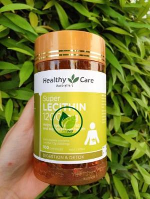 Healthy Care Super Lecithin 1200mg - Viên uống mầm đậu nành