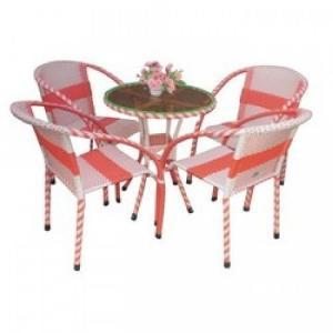 Bàn  ghế nhựt có hoa văn mây nhựa  có đủ màu sắc giá sì tại xưởng sản xuất anh khoa 467677