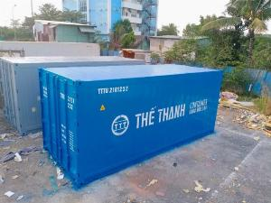 Container lạnh 20feet âm 35 độ
