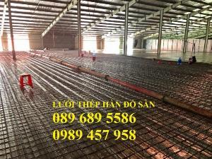 Bán Lưới thép đổ bê tông phi 8 a 200x200, D8 a 200x200 giao hàng sớm