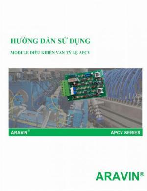 APCV-V1.3-AP - Board mạch điều khiển van tỉ lệ với đầy đủ các tín hiệu điều khiển... do ARAVIN sản xuất