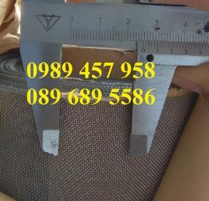Lưới chống côn trùng, lưới chống muỗi Inox 304 khổ 1,5mx30m, 1,2m