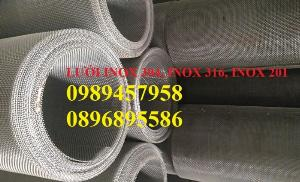 Lưới chống muỗi 20 ô/ink, 30 mesh, 40 ô/ink, Lưới chắn ruồi, Lưới chống côn trùng inox316