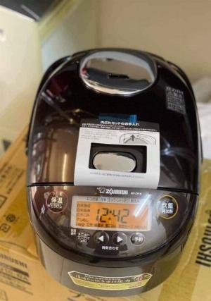 Nồi Cơm Điện Cao Tần Zojirushi NP-ZH18 1.8L Có Áp suất DATE 2020