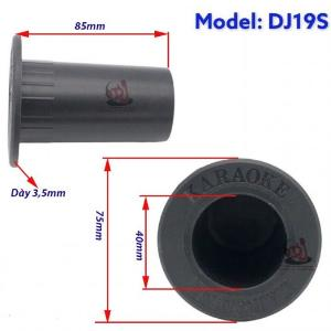 Ống cắm micro nhựa âm thùng loa, ống trụ loa